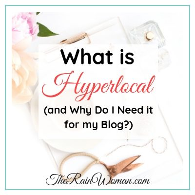 What is hyperlocal