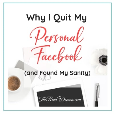Why I Quit Facebook and Found My Sanity