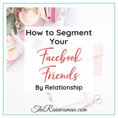 How to segment your friends list